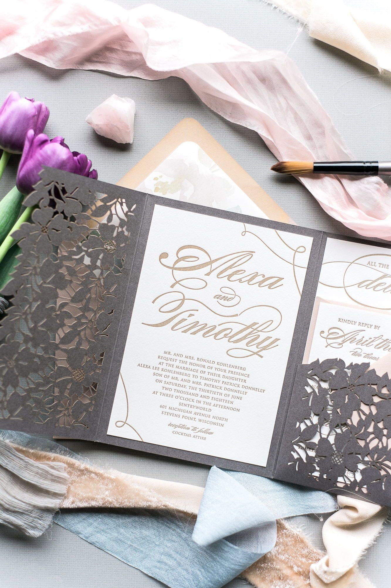 Pin On Wedding Invitations And Stationery Items