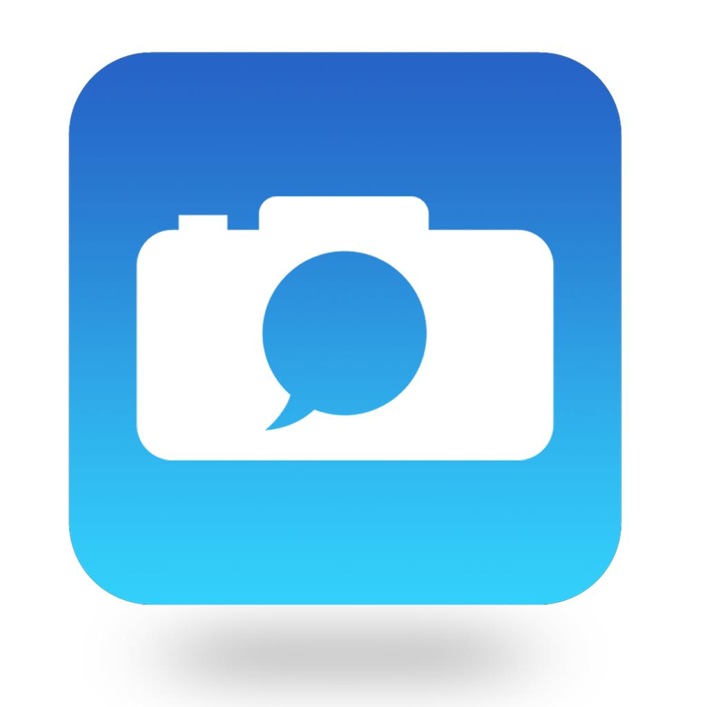 Creative Designs Idea Free Chat with Camera App Icon