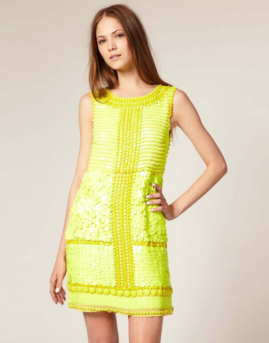 another little yellow #dress