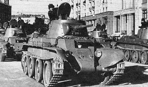 Kuvahaun tulos haulle BT-7 tank