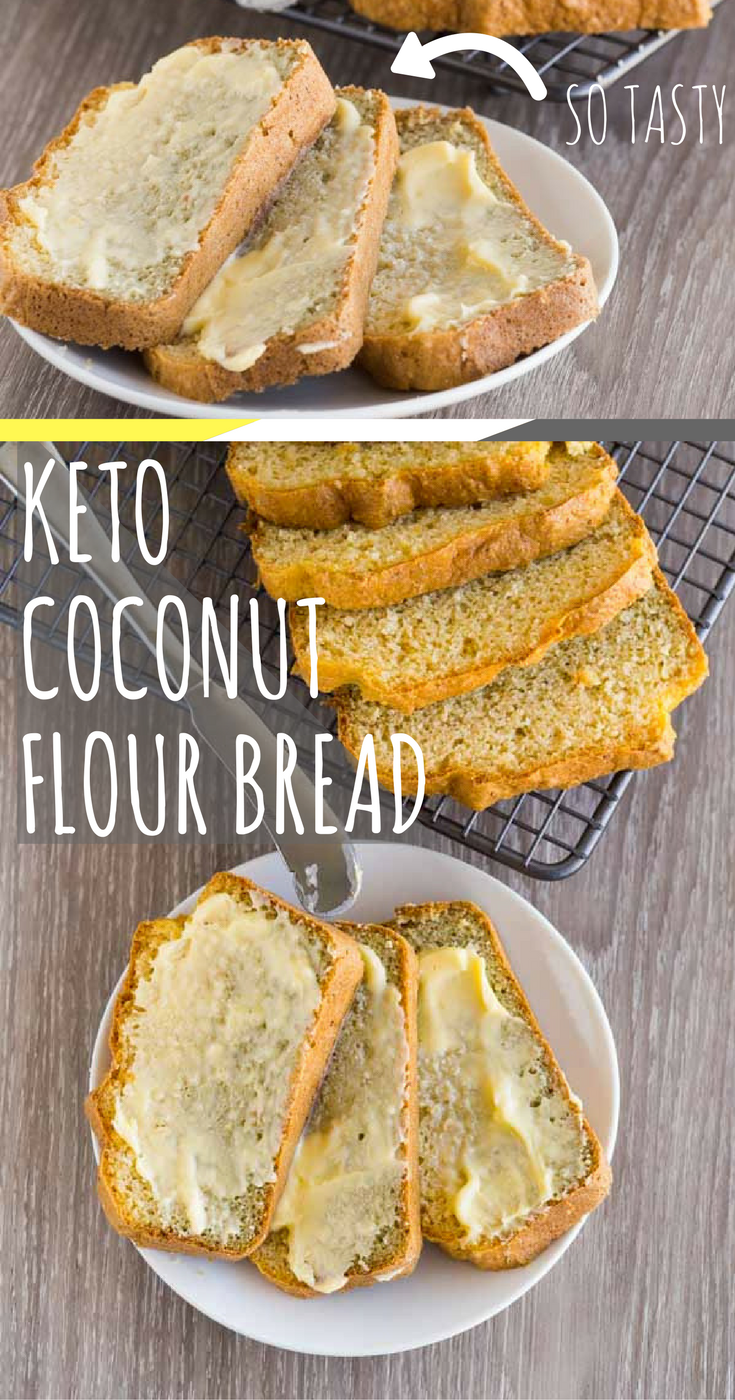 Keto Coconut Bread