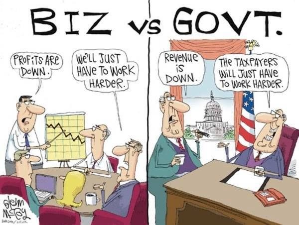 Image result for big government political cartoons