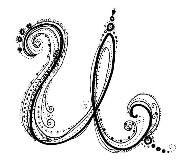 Fancy Letters Fancy Alphabet Typography Pinterest Fancy