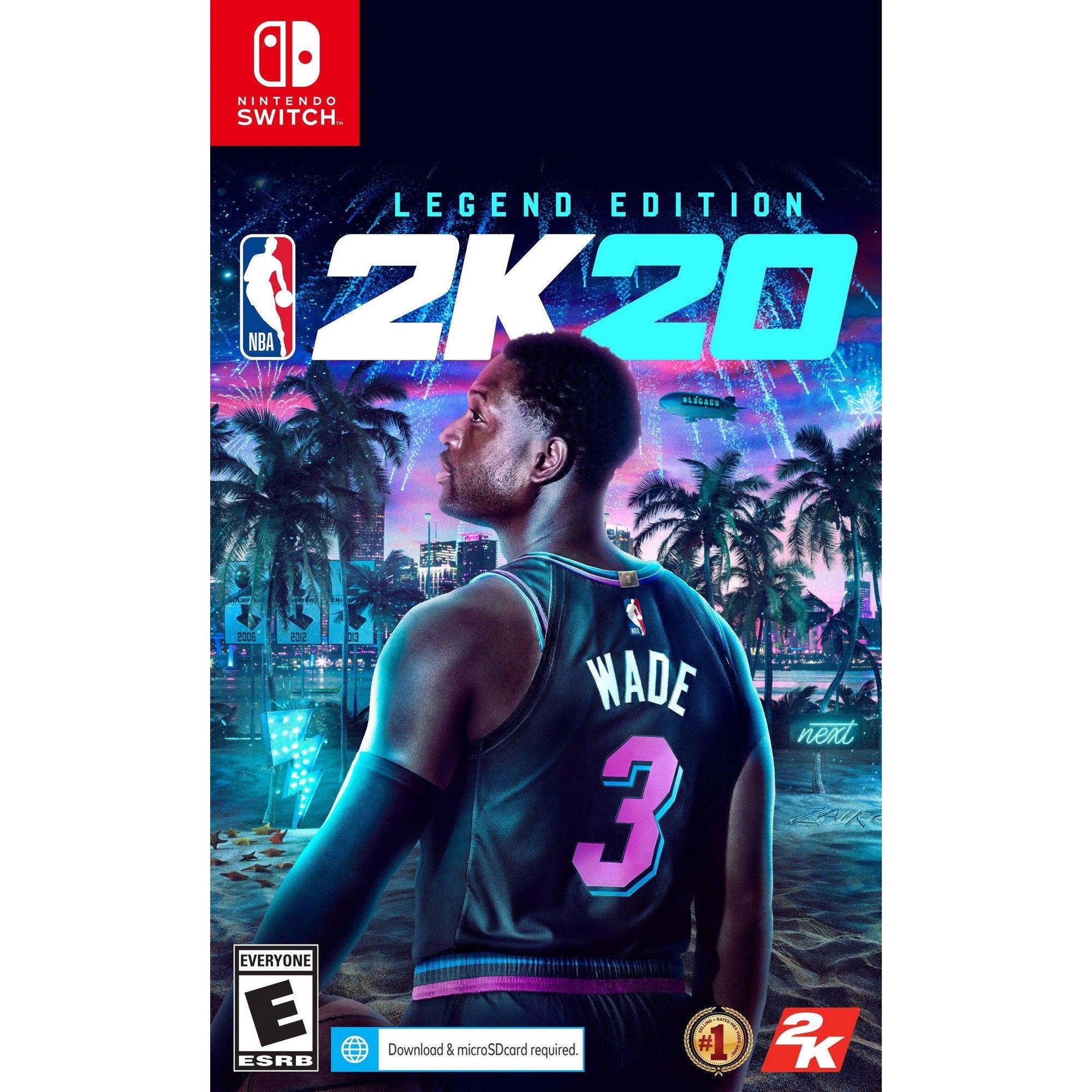 NBA 2K20 Legend Edition Nintendo Switch Xbox one