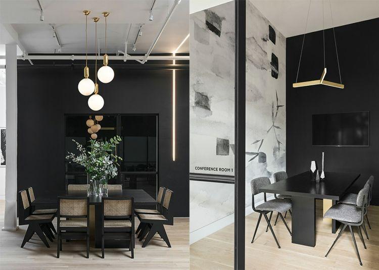 Marvelous Konferenzraum Büromöbel Interior Pendelleuchten Innendesign #space  #coworking #interiordesign