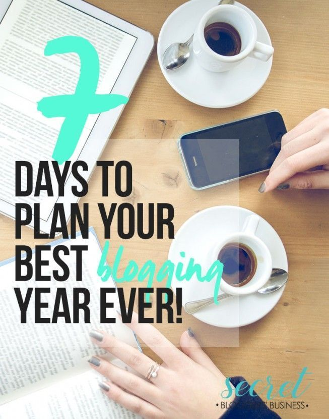 Want to plan out your best blog year yet? (Free training!)