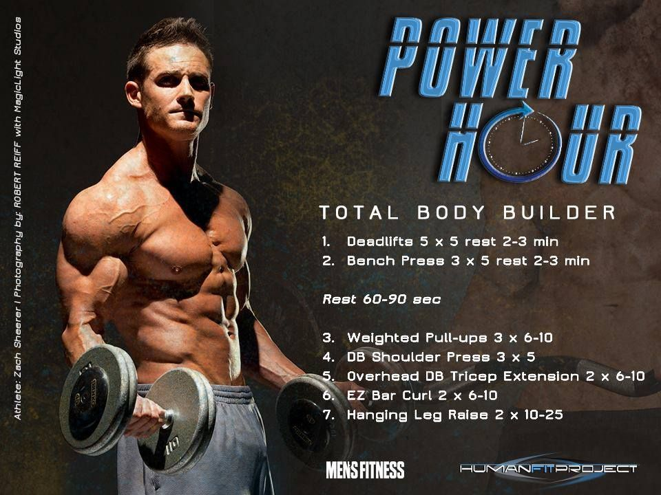 Www Humanfitproject Com Total Body Workout Daily Workout Full Body Workout