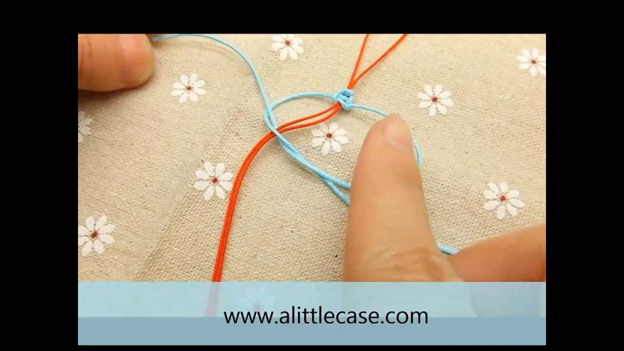 How To Make A Square Knot Square Knot Tutorial Knot Instructions