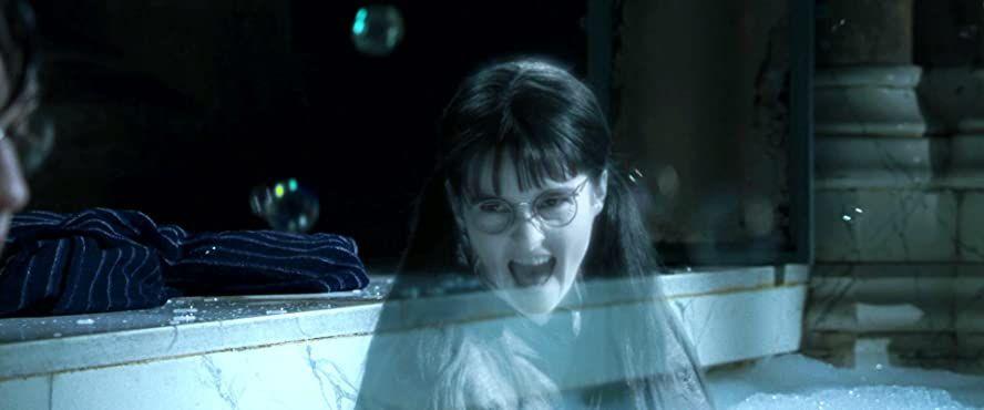 Shirley Henderson In Harry Potter And The Goblet Of Fire 2005 Harry Potter En De Geheime Kamer Harry Potter Geheime Kamer