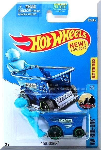Hot Wheels 2017 HW Ride-ons Aisle Driver