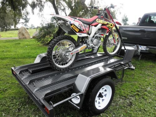 Mx Edition Motorbike Trailer Another Australian Trailer Motorbikes Motorcycle Trailer Utility Trailer