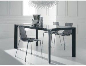 Tavolo Allargabile ~ Diamond tavolo allungabile in vetro tavolo rettangolare