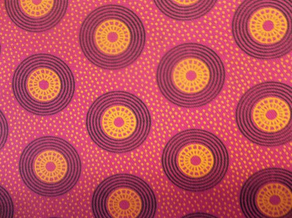 11 Yard (1 meter) of Pink and Yellow ShweShwe \/ South African - ebay kleinanzeigen k chenmaschine