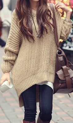 Cold weather fashion
