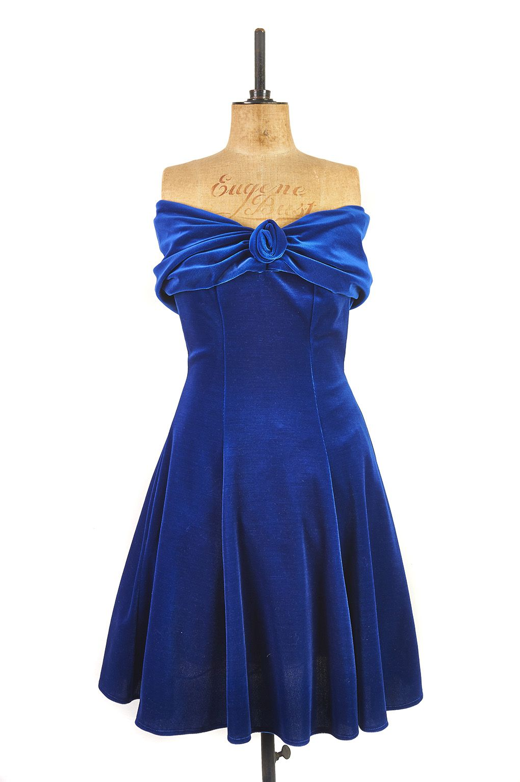 Vintage 1980 Blue Cocktail Dresses