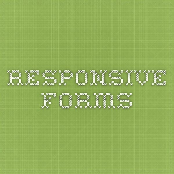 Responsive forms forms Pinterest - income based repayment form