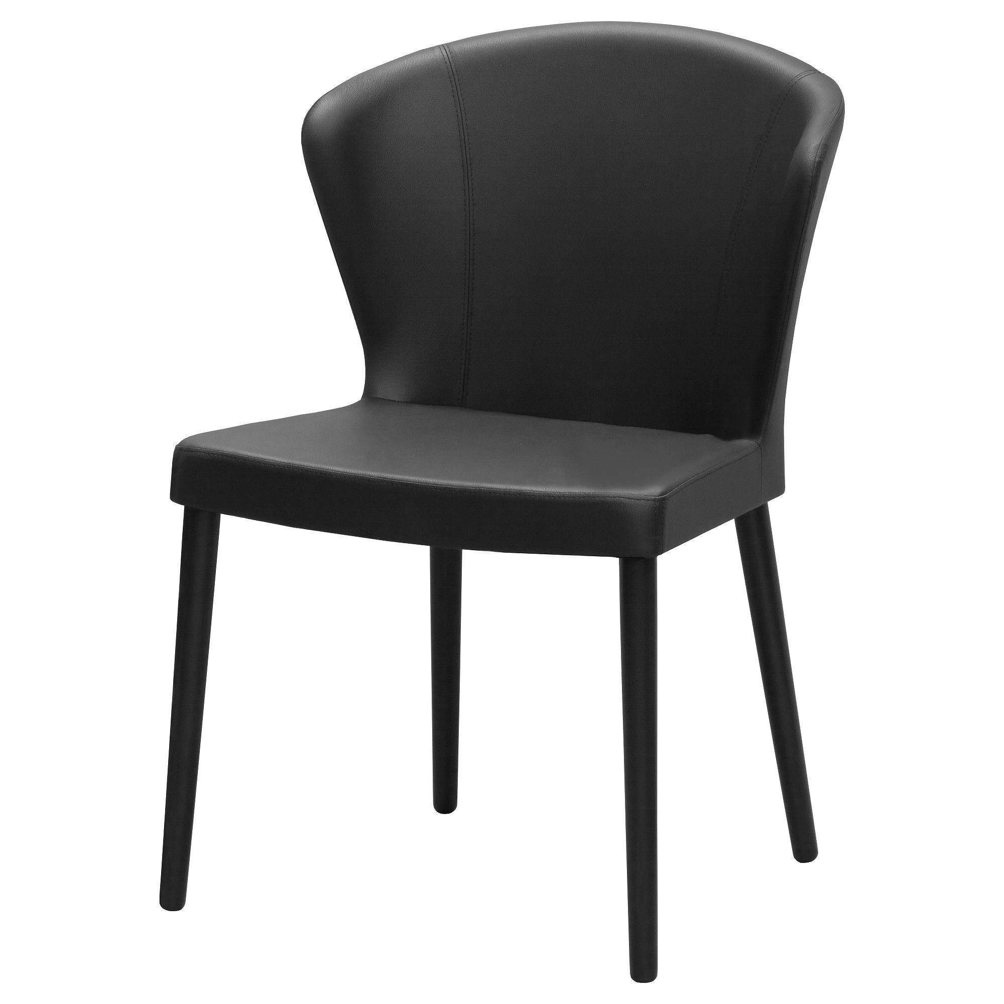 ODDMUND Chair, Idhult black stained, Idhult black