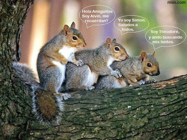 """Escenas nunca antes vistas en la película: """"Alvin y las Ardillas"""""""
