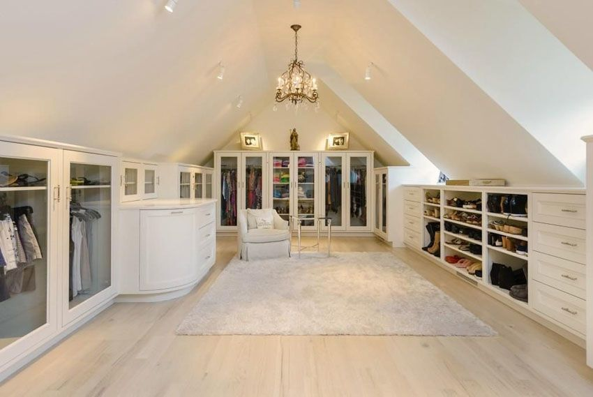 8 Simple And Stylish Ideas Can Change Your Life Attic Floor Plywood Rustic Attic Ideas Attic Floor Plywood Walk In Closet Design Closet Designs Attic Remodel