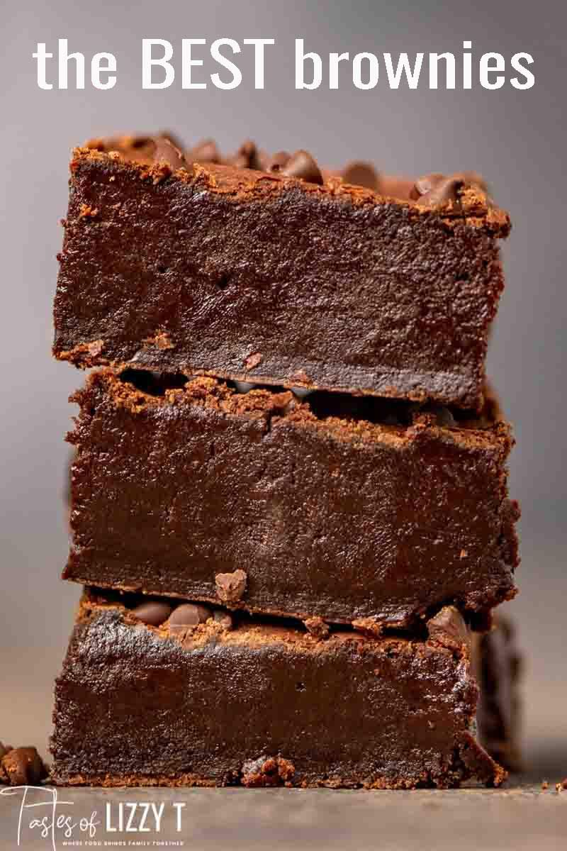 If You Re Looking For The Best Homemade Brownie Recipe Look No