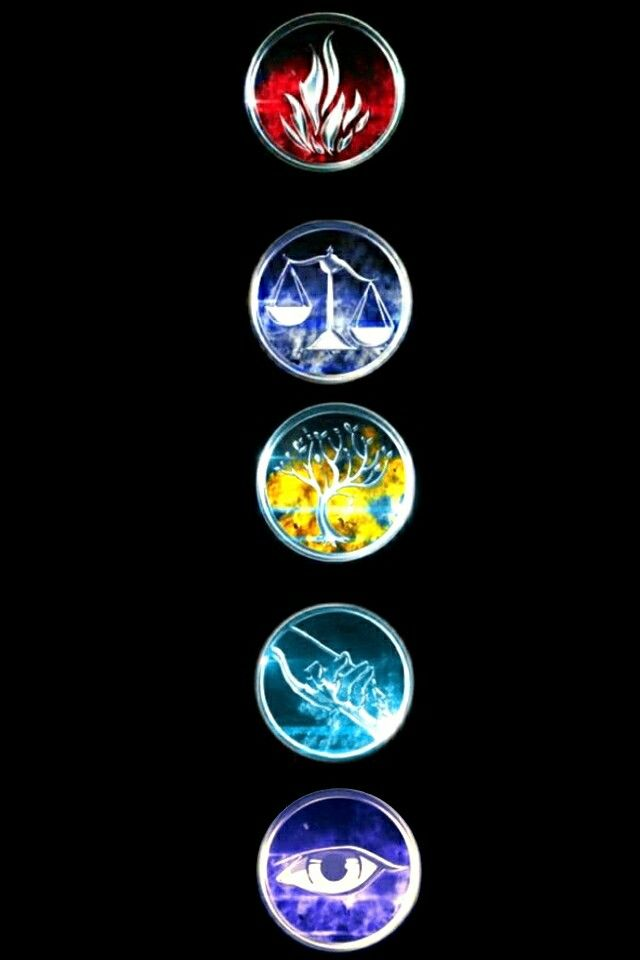 Divergent symbols - Dauntless - Candor - Amity ...