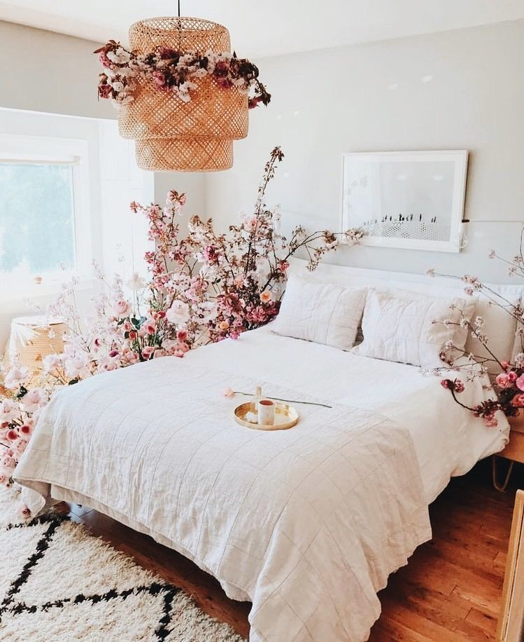 Best Bedroom Bohemian Boho Flowers Floral Girly Chic 640 x 480