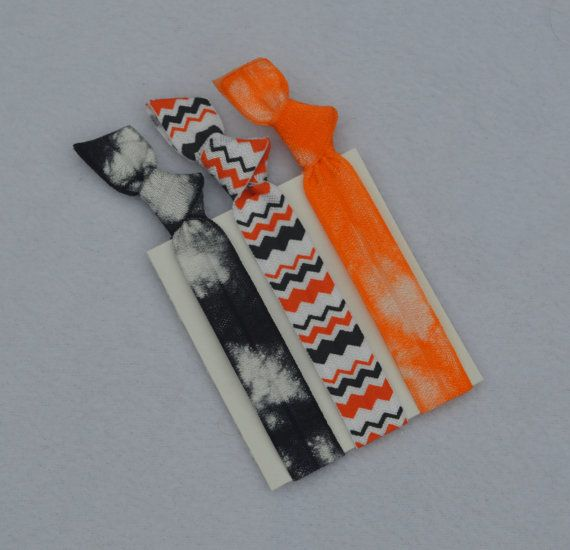 Haunted  Hair Ties by ShillysFrillies on Etsy