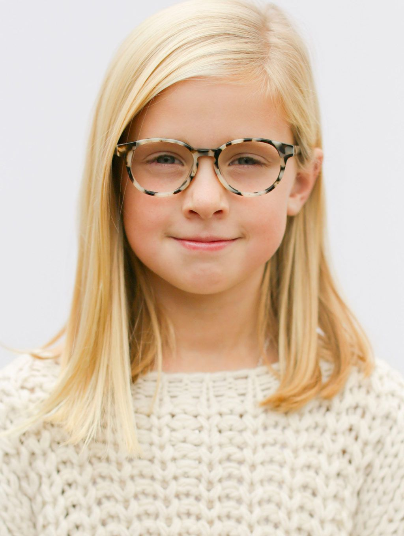 621776e5b8 Limited Edition Kids Glasses    The Paige Cream Tortoise