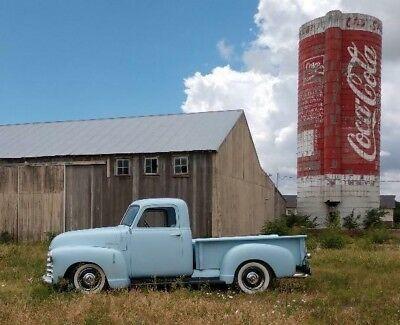 1950 Chevrolet Shortbed Pickup Truck Baby Blue. Old 1950's Trucks for Sale.  V…