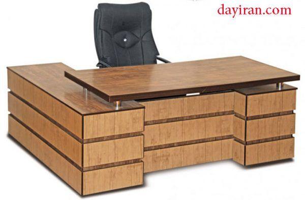 میز مدیریت ام دی اف 2 Office Table Design Luxury Office Furniture Office Furniture Modern