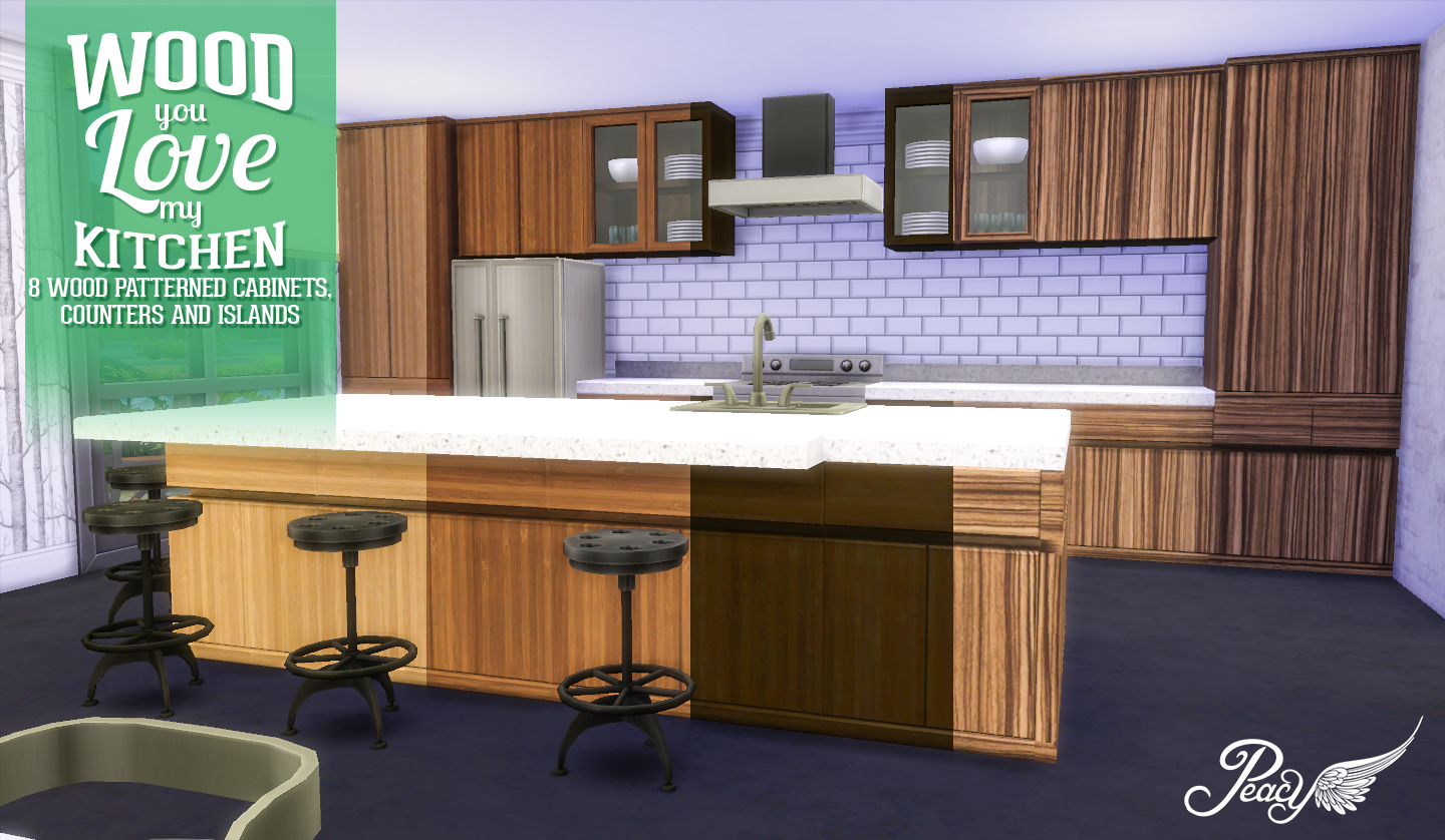 Simsational designs wood you love my kitchen