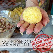 come fare gli arancini al pistacchio siciliani ricette handmade ME creativeinside