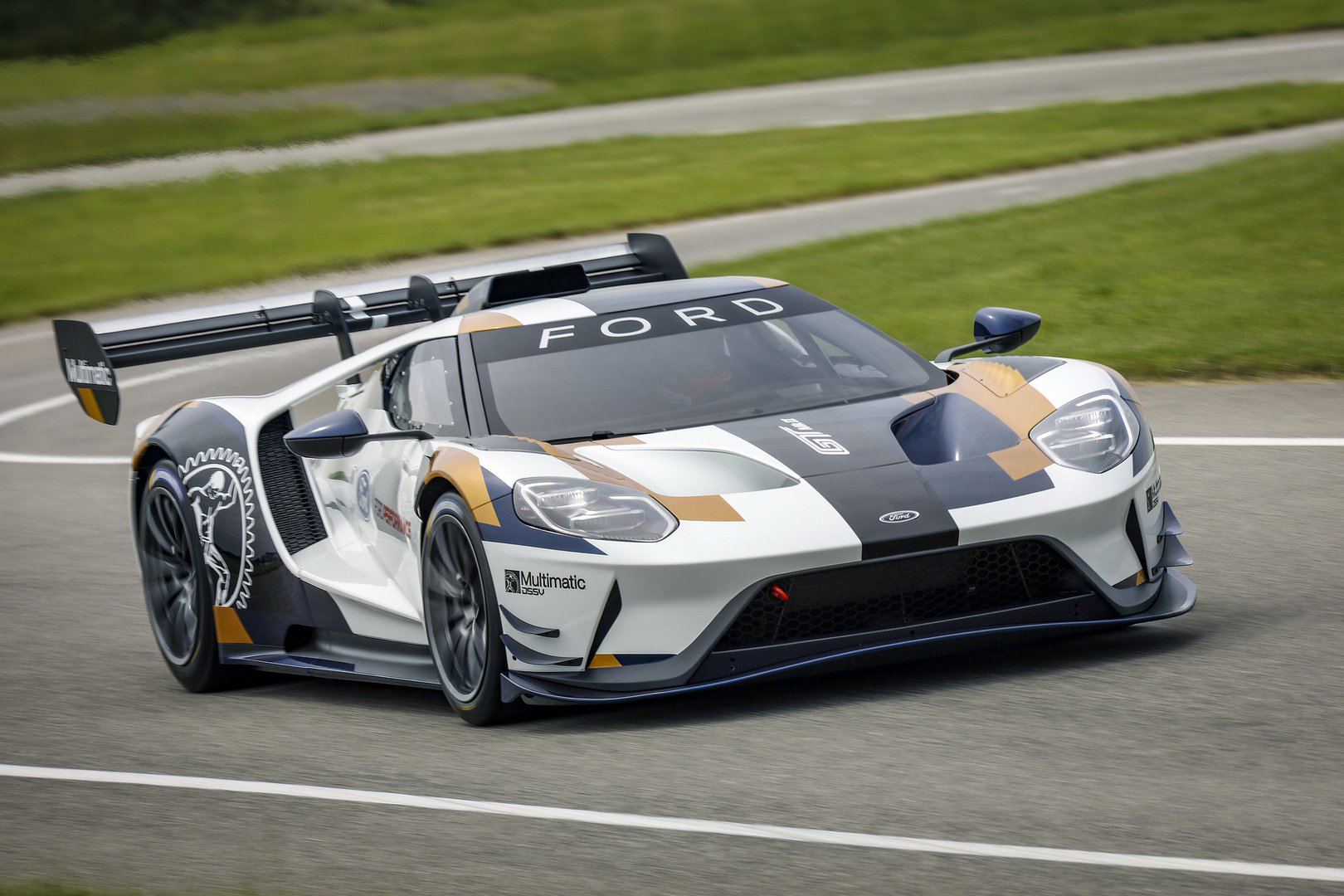 Ford Gt Mk2 Track Only Supercar Launched With Huge Aero Tweaks