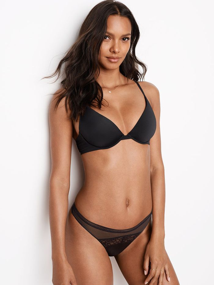 415c708da8 All the VS Angels Wear Their Underwear Like This (and You Probably Don t)  via  WhoWhatWearUK