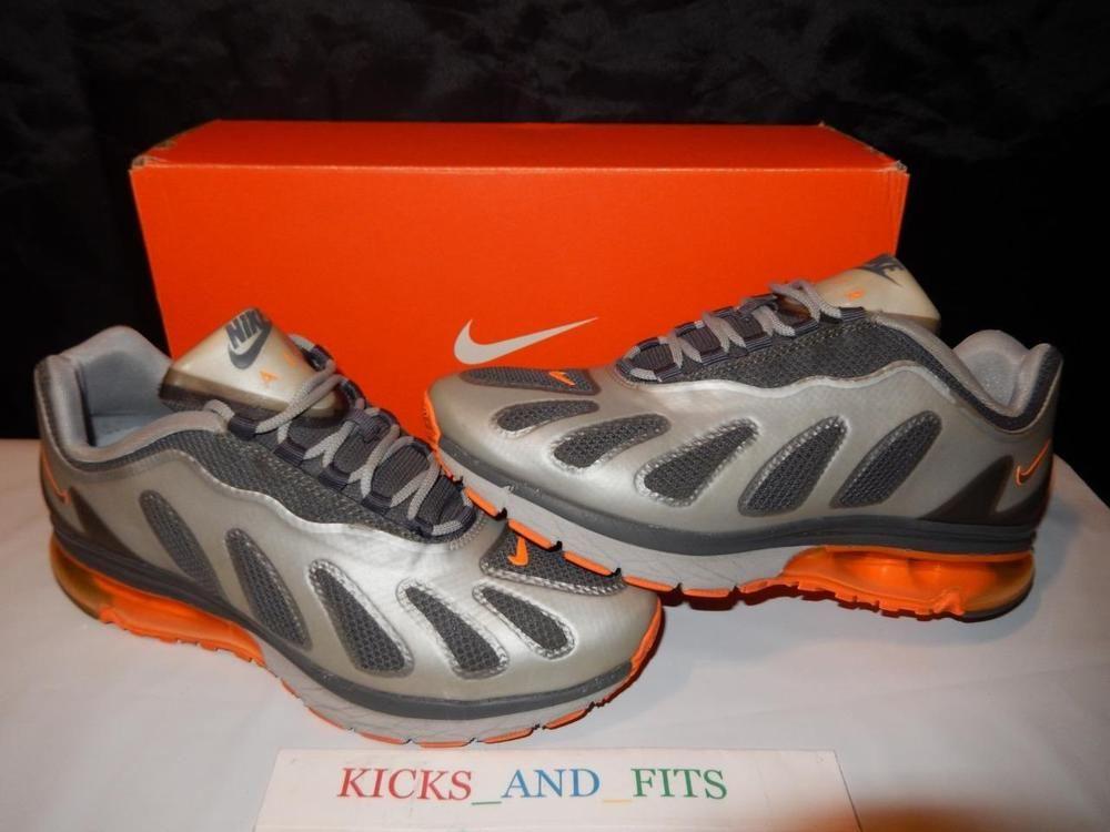 94ea300c8945 Rare 2012 NIKE Air Max + 96 Evolve SAMPLE Running Shoes 9 Gray Orange  525223-018  Nike  AthleticSneakers