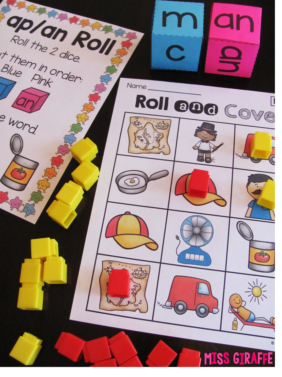 So Many Fun Short Vowel Word Families Centers And