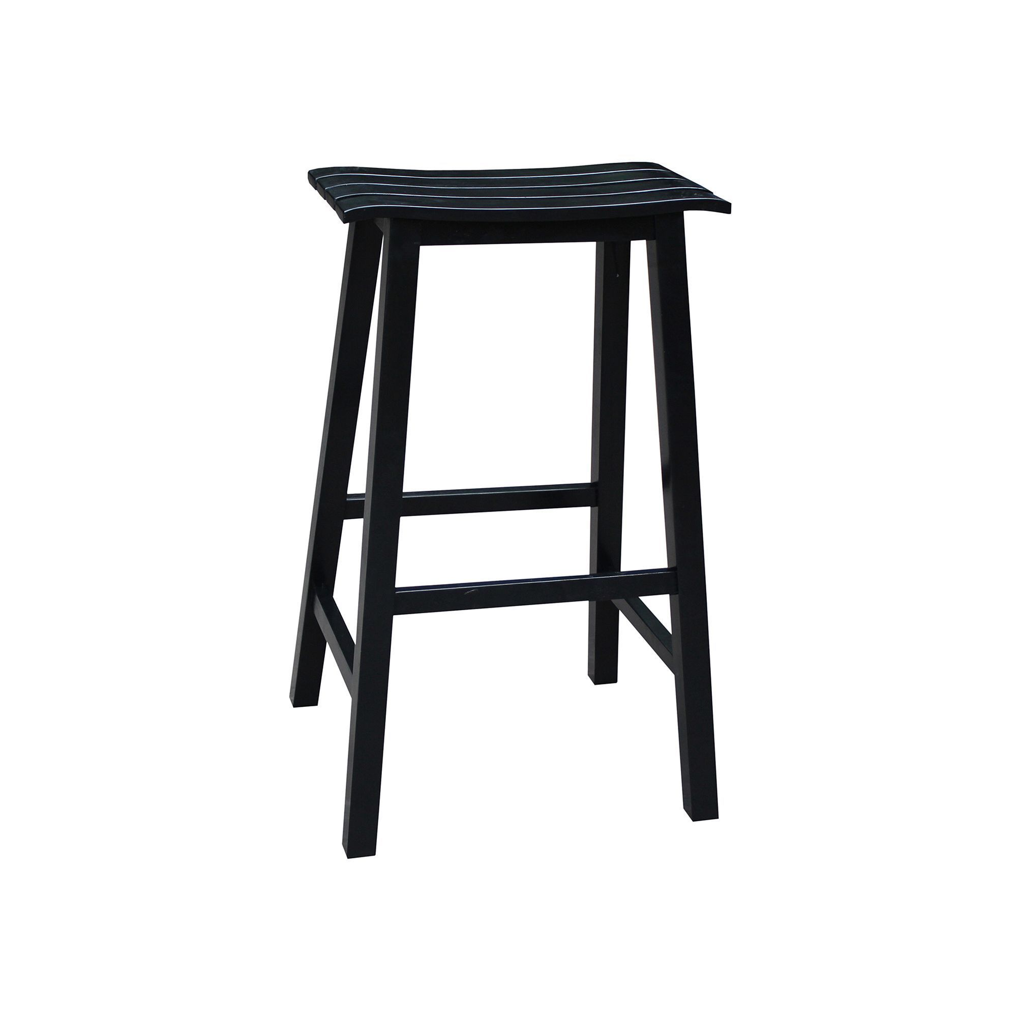 International concepts slated bar stool bar stools bar stool and