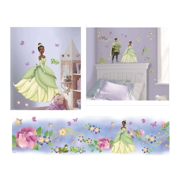 The ultimate Princess Tiana room package. The ultimate Princess Tiana room package    Disney Princess Decals