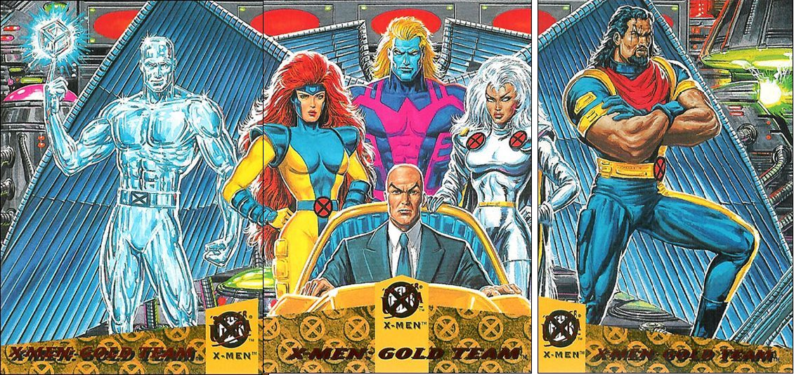X Men Gold Team 94 Fleer Ultra X Men Cards X Men Comics Comic Movies