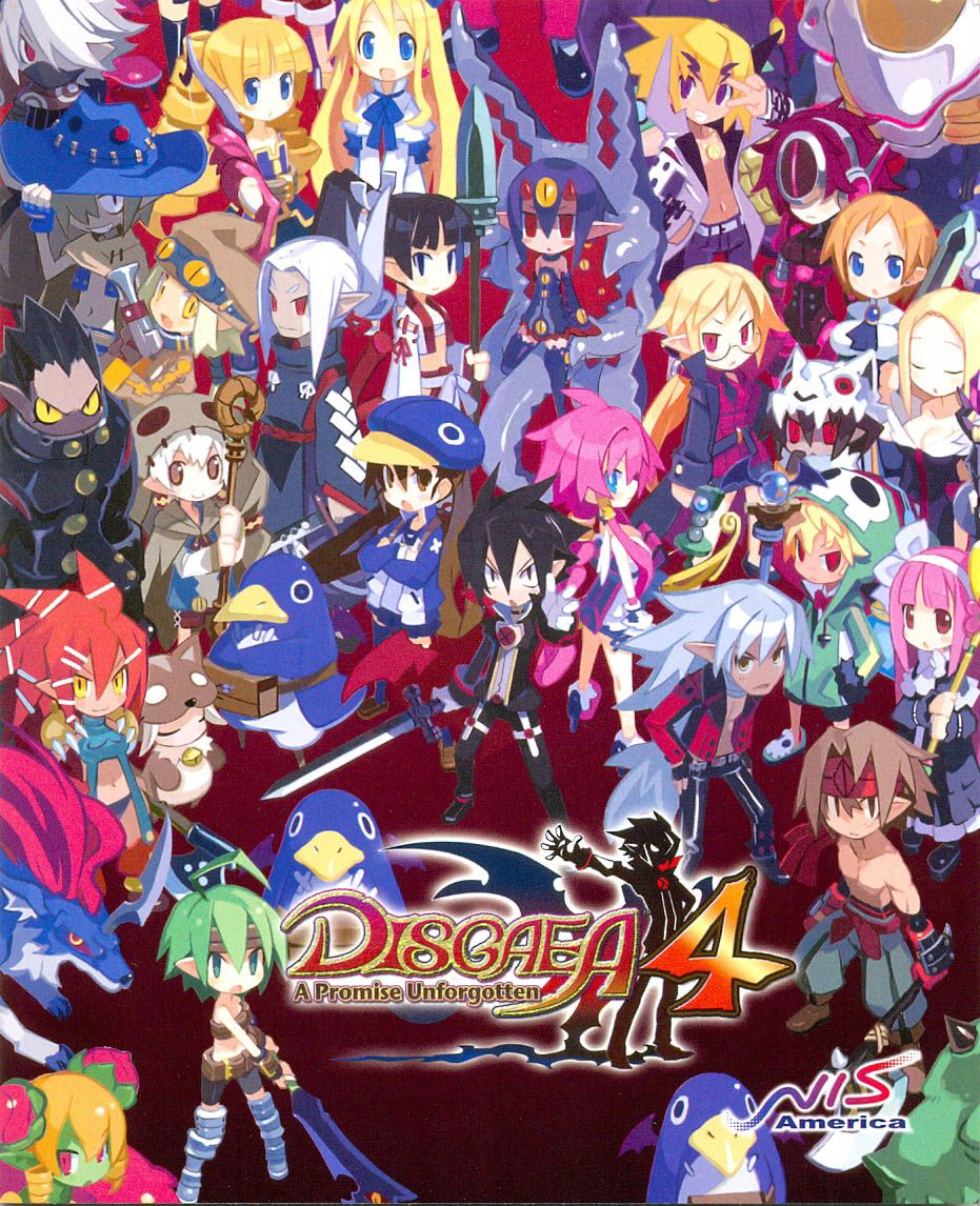 Disgaea 4 Disgaea Character Design Anime