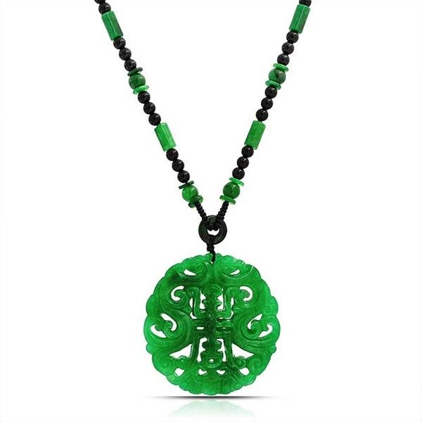Bling jewelry chinese jade pendant 30 liked on polyvore bling jewelry chinese jade pendant 30 liked on polyvore featuring jewelry necklaces aloadofball Gallery