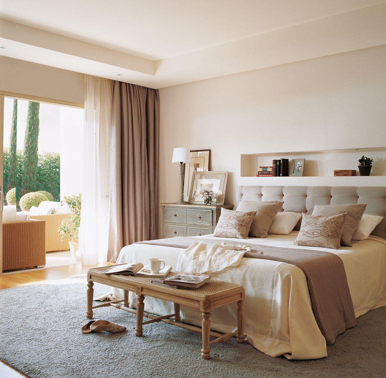 M s espacio para guardar en el dormitorio el dormitorio for El mueble decoracion