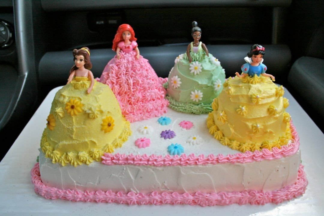 Image of Princess Cake Ideas For Birthdays Girls birthday cake
