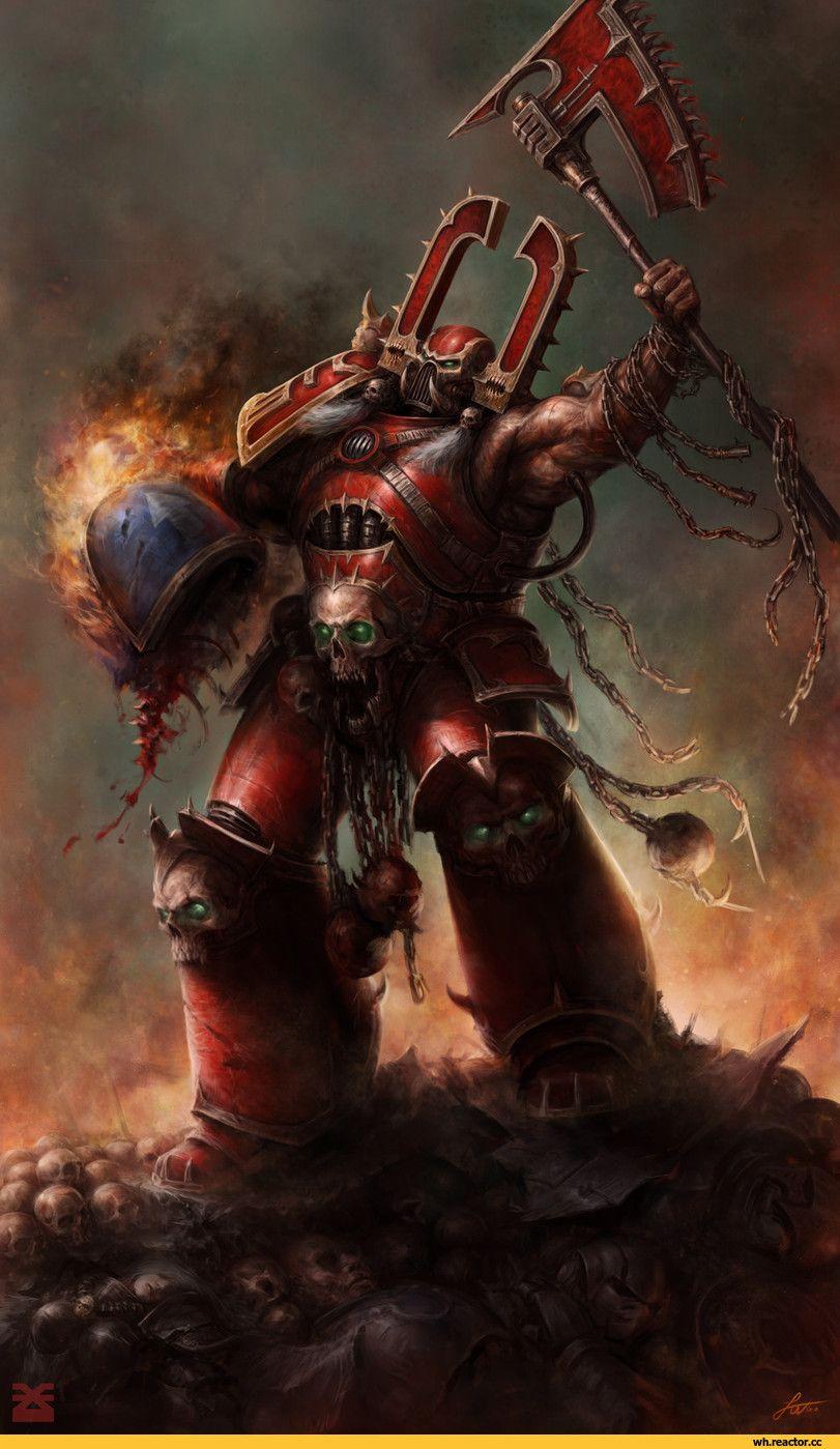Kharn The Betrayer World Eaters Warhammer 40000