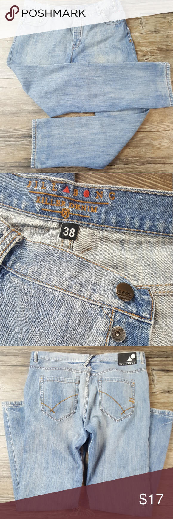Billabong Killer Jeans Buttonfly 38 In 2018 My Posh Picks