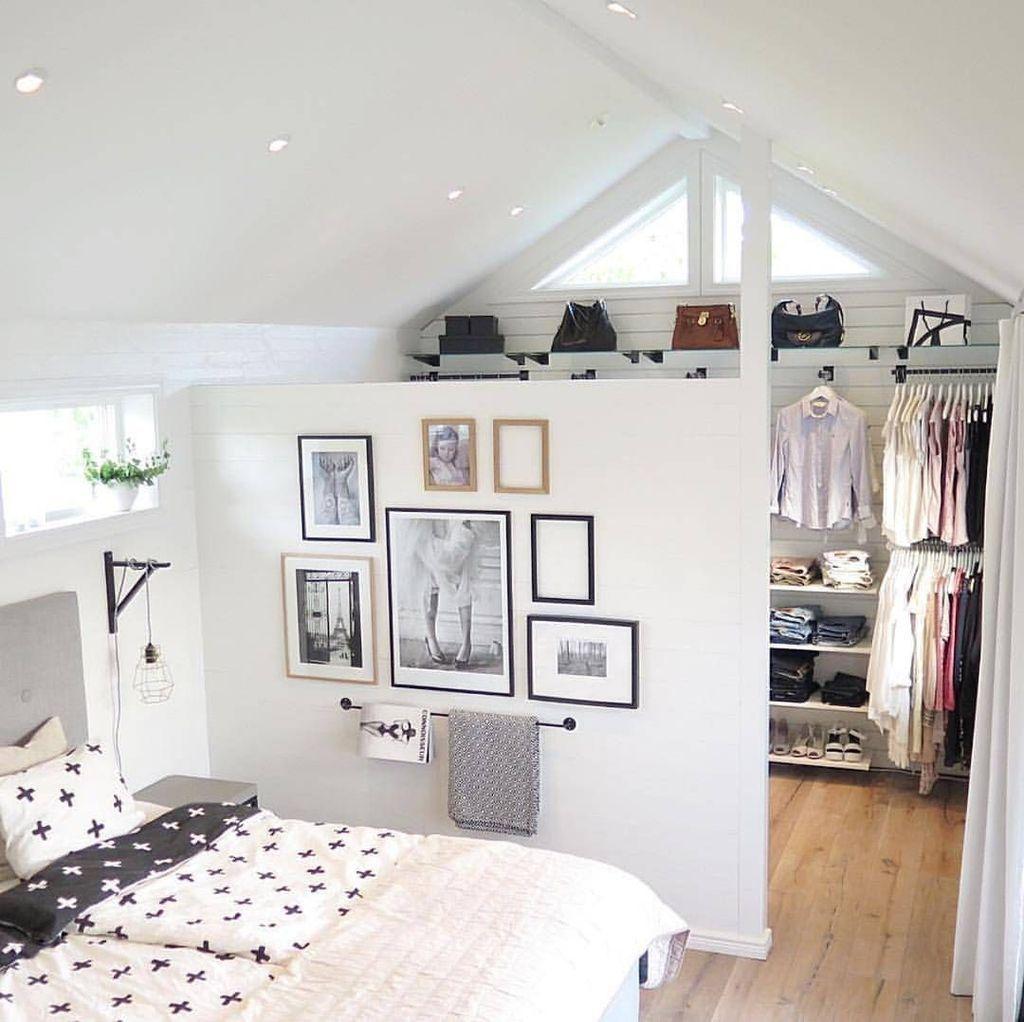 39 Amazing Attic Bedroom Design Ideas That You Will Like Attic Bedroom Designs Attic Bedroom Small Attic Master Bedroom