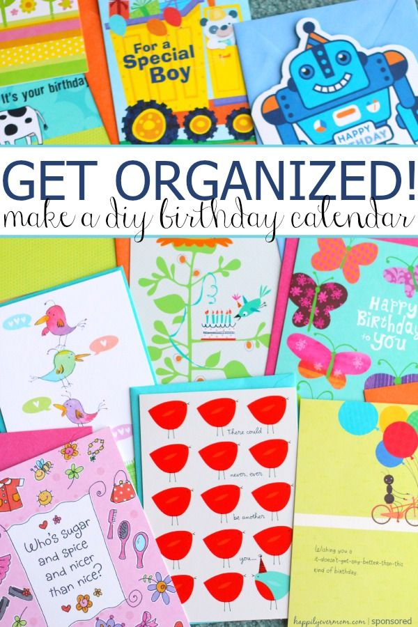 DIY Birthday Calendar that Kids will Love The Best of Happily Ever