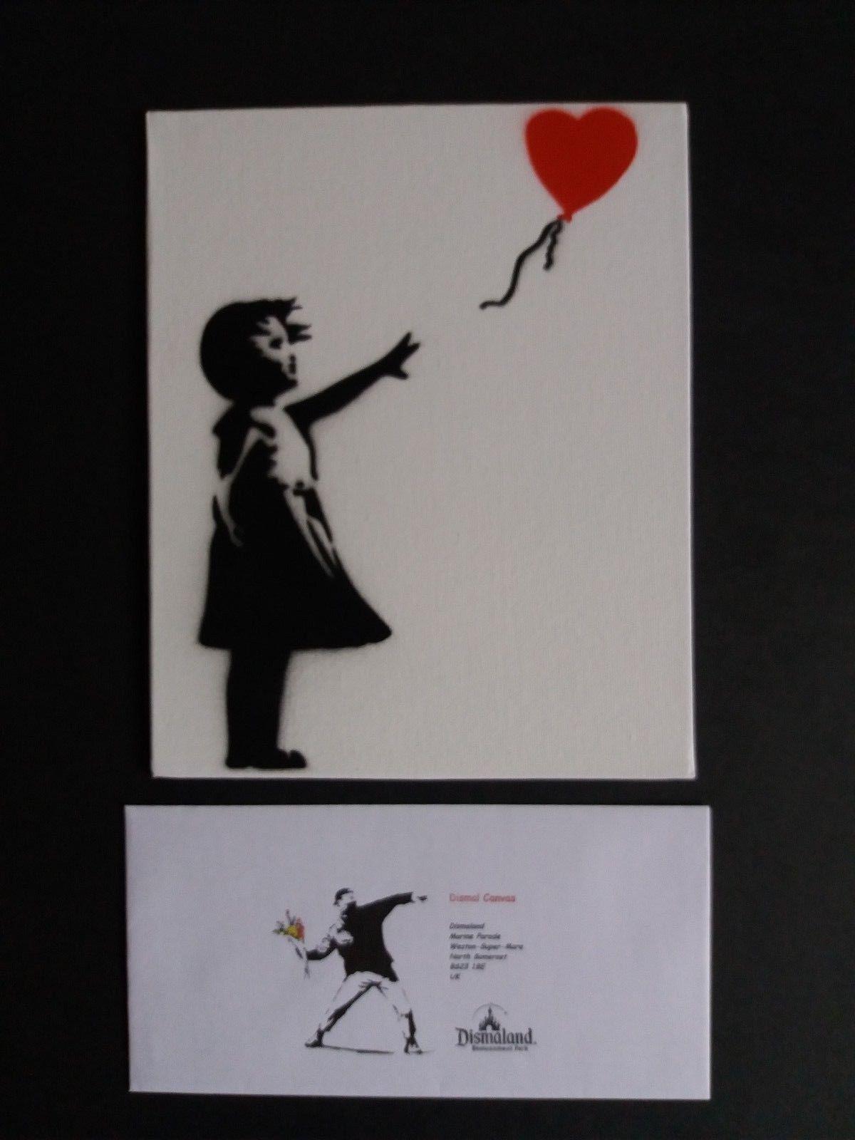Banksy balloon girl | Banksy fridge magnet | Banksy canvas art | banksy print Banksy refrigerator magnets 6 designs available.
