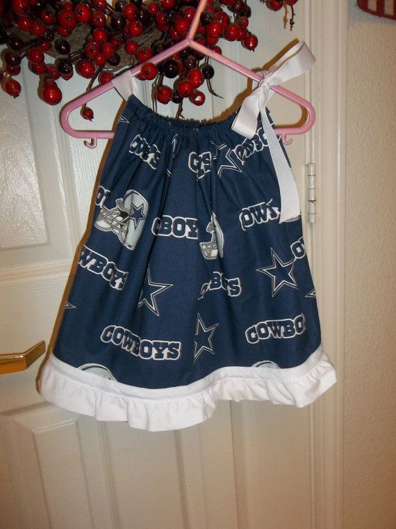 32e748fef Dallas Cowboys Pillowcase Dress on Etsy