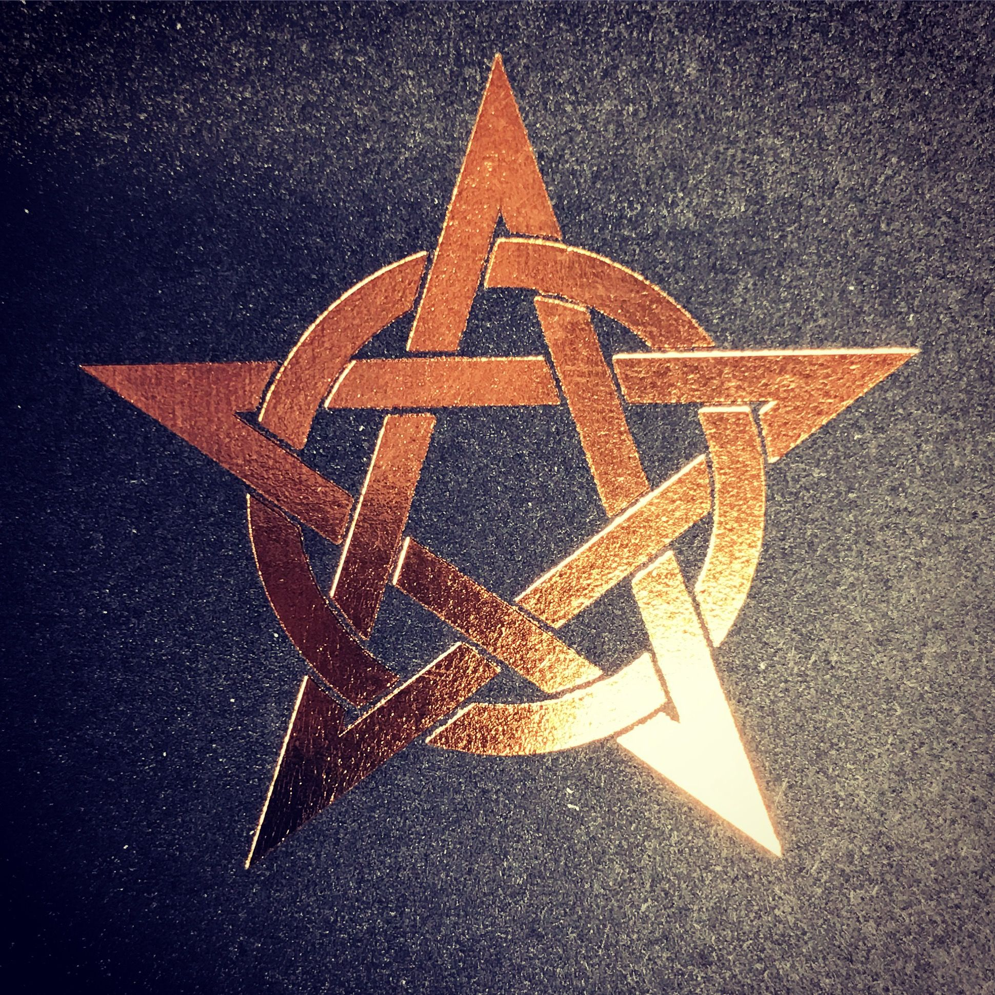 Copper Pentacle